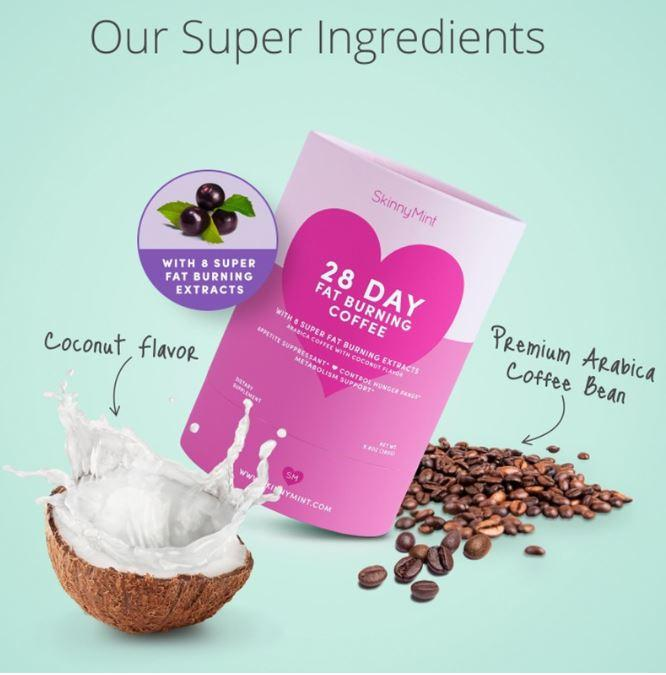 Skinnymint Super Fat Burning Hot Chocolate & Coffee (bundle Two Step) By Bestielove.