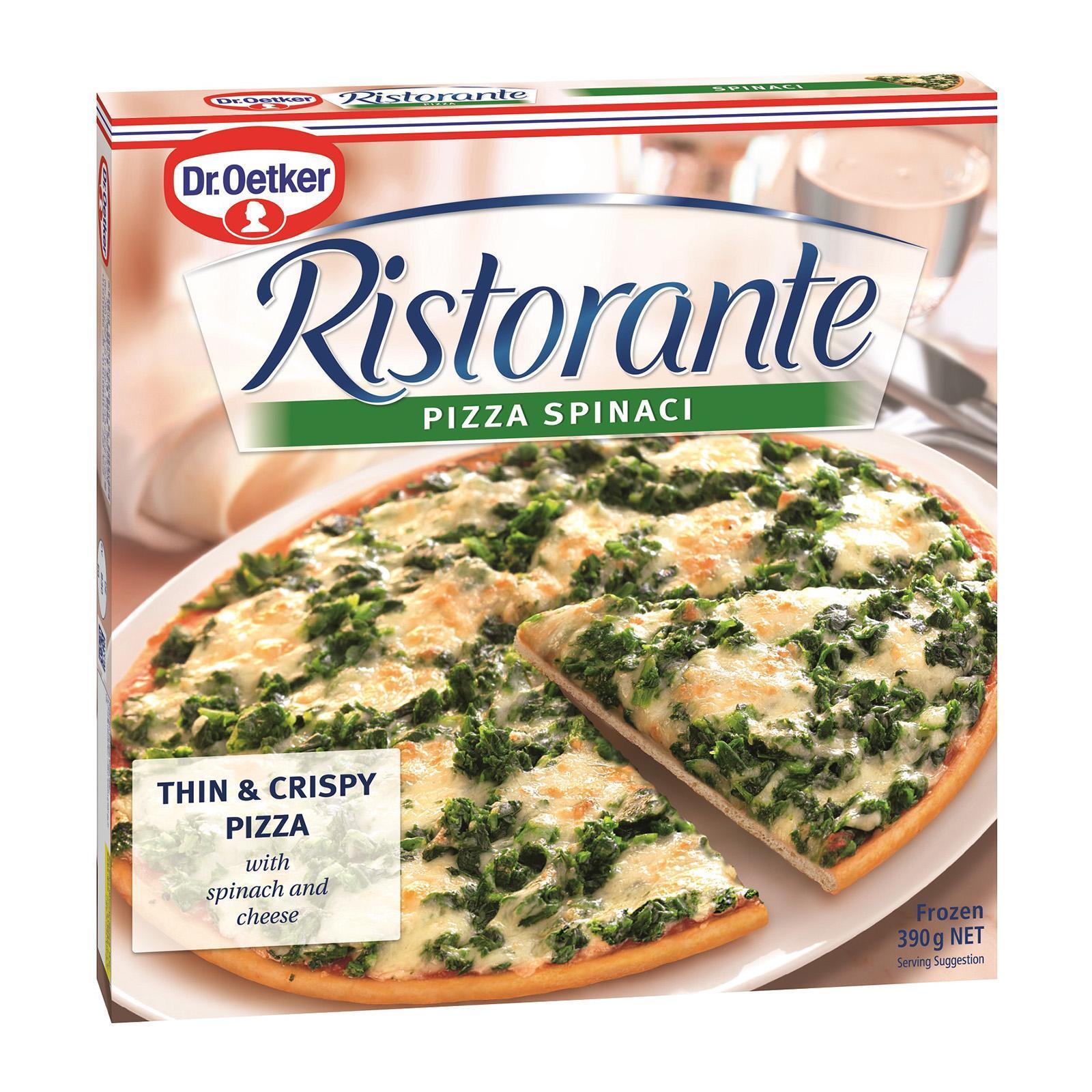 Dr Oetker Ristorante Spinach Pizza - Frozen