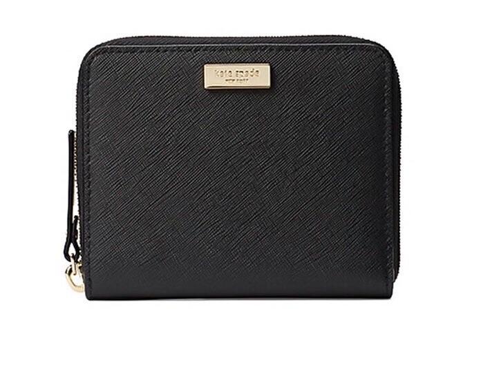 cbcb589dece7 Kate Spade New York Darci Laurel Way Leather Wallet  Black