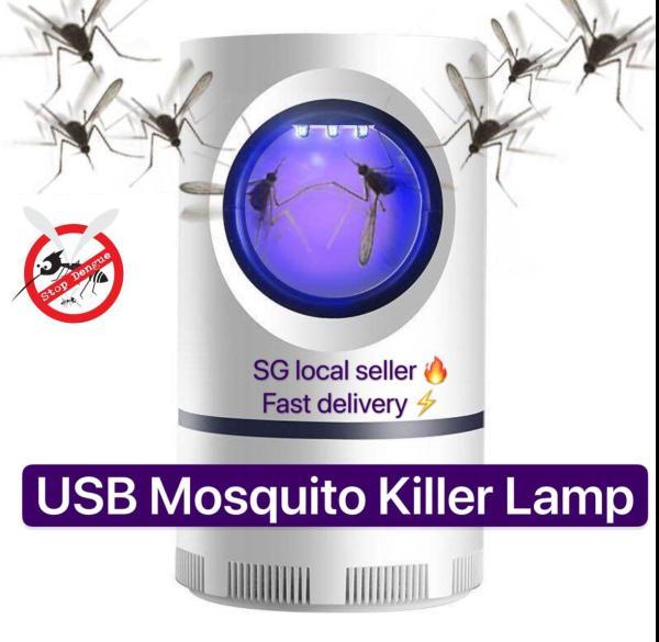 🔥Hot Sale  ⚡️USB Powered UV LED Electronic Mosquito Killer Lamp Stop Dengue🦟