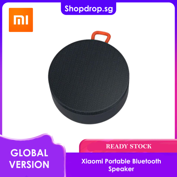 [SG SELLER] Global Version Xiaomi Portable Bluetooth Speaker INSTOCK READY STOCK Singapore