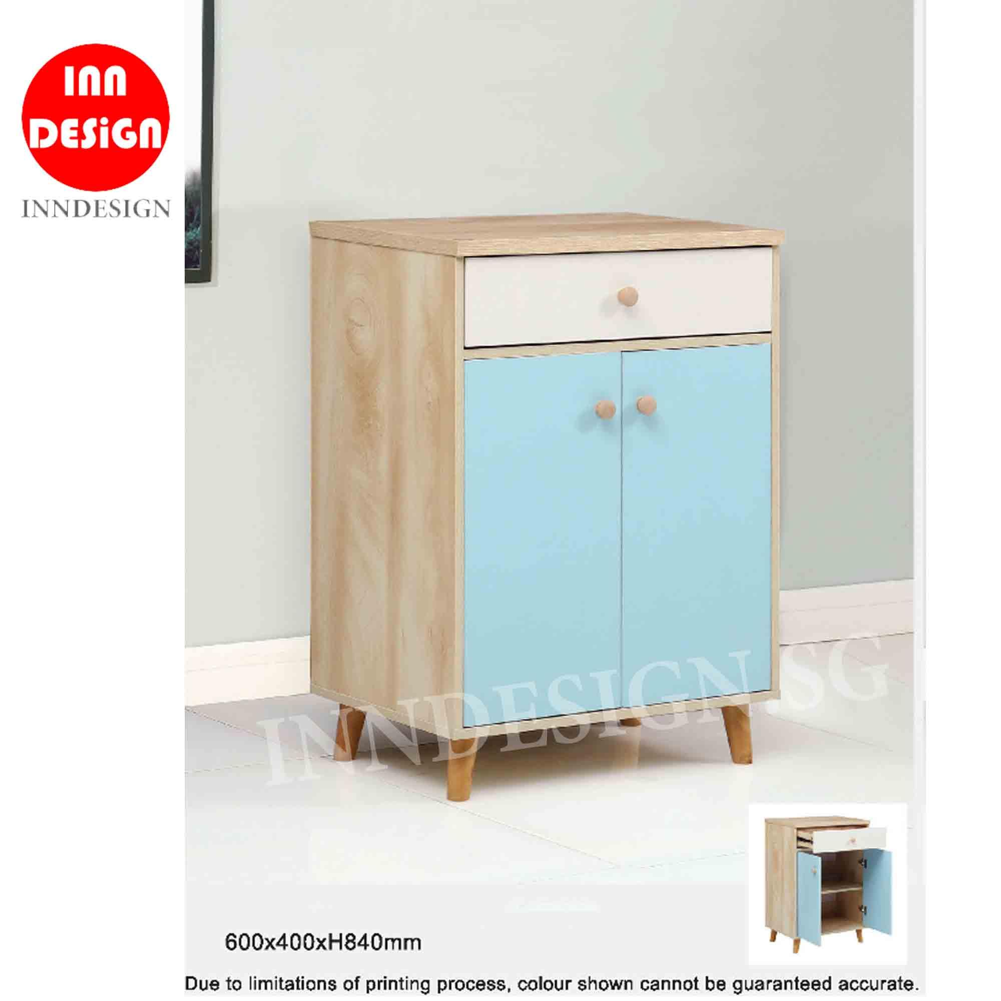 Vella Storage Cabinet / Chest of Drawer / SIdeboard (Fully Assembled and Free Delivery)