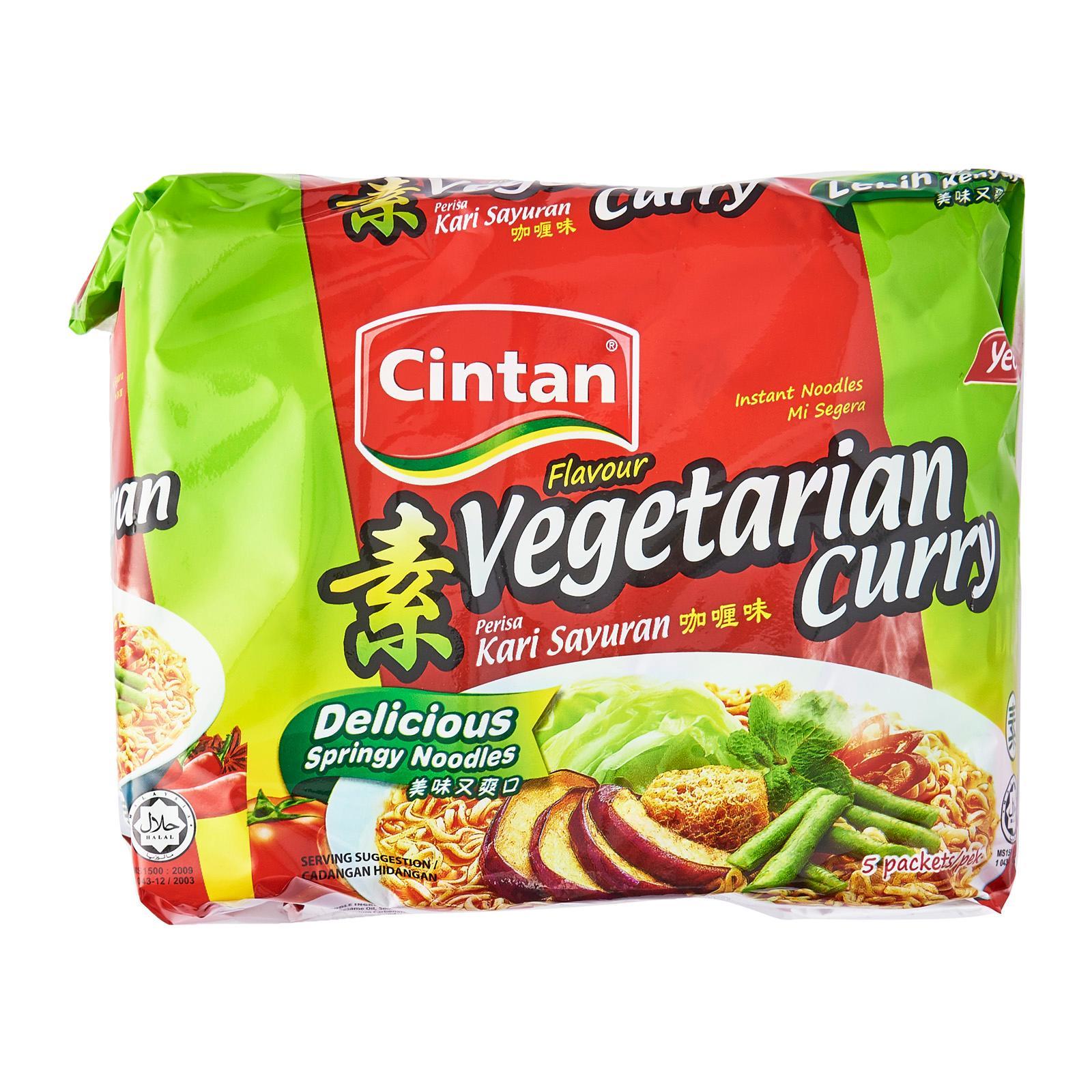 Cintan Noodles Vegetarian Curry