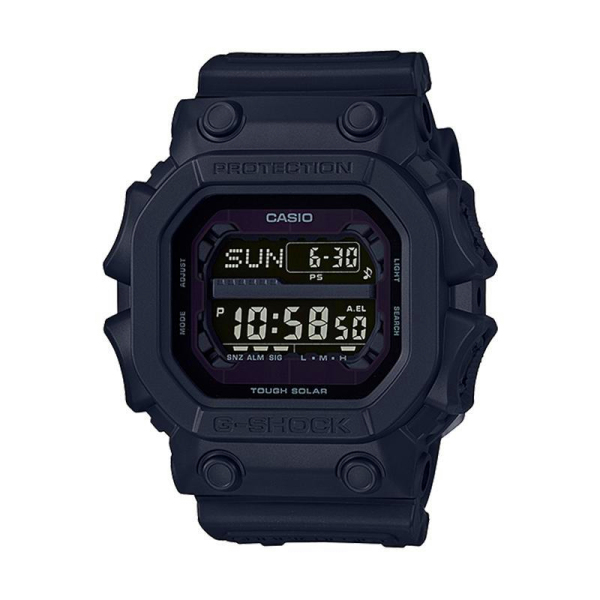 [100% Original G SHOCK]Casi G Shock Black Out Series Black Resin Band Watch GX56BB 200M Water Resistant Shockproof and Waterproof World Time LED Auto Light Wist Sports Watches with 2 Year Warranty Malaysia