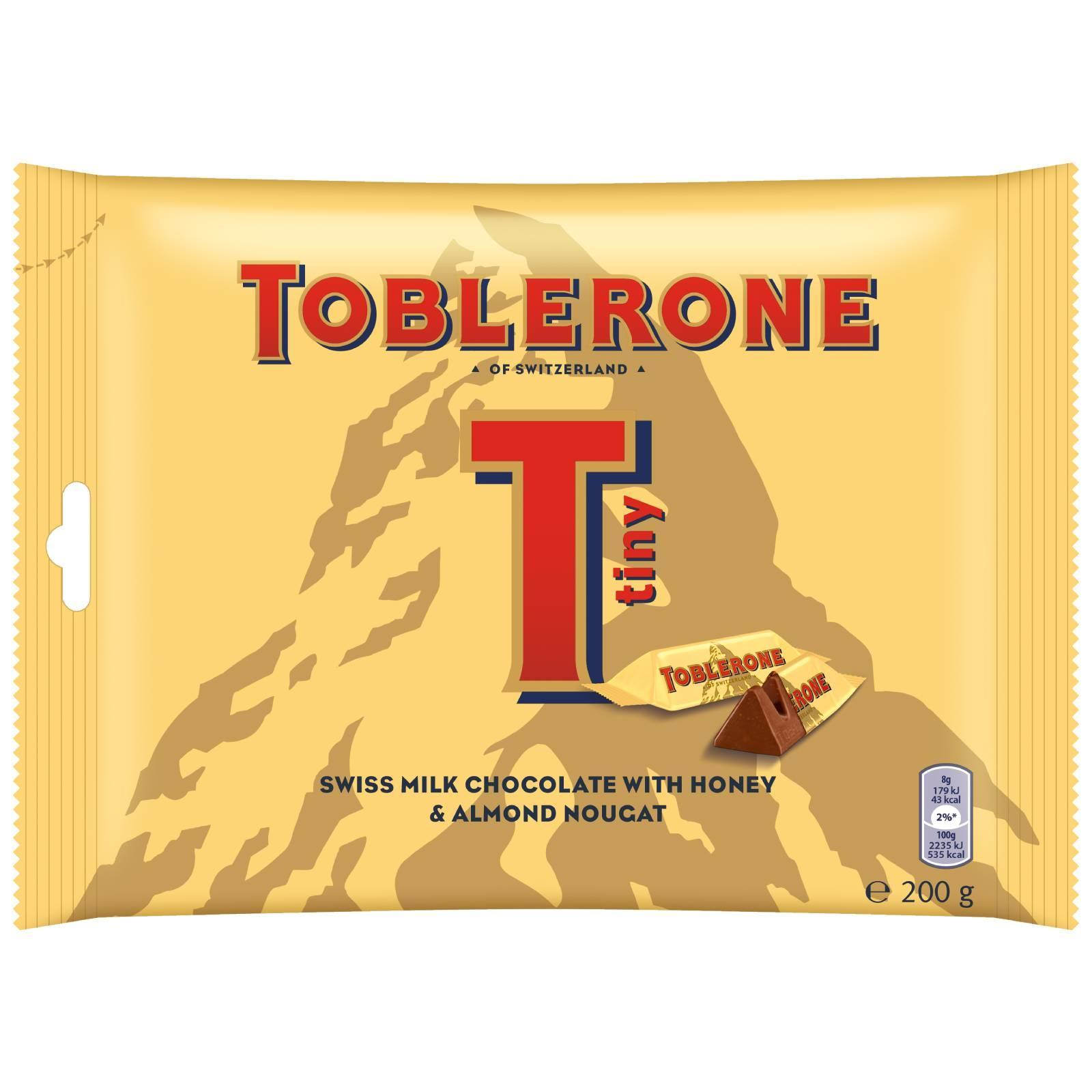 TOBLERONE Mini Milk Chocolate 200g