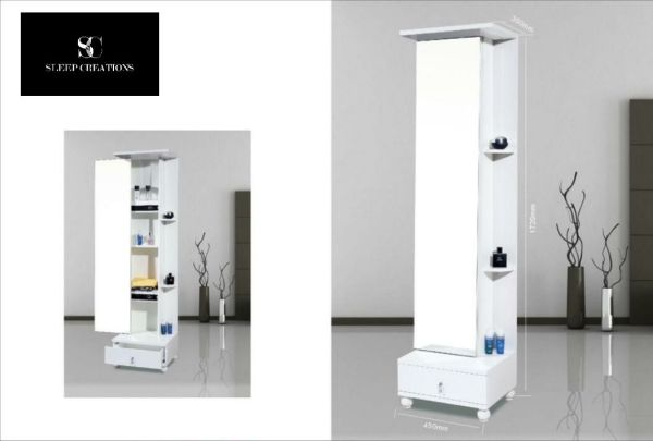 Mono Dressing Mirror with Cabinet