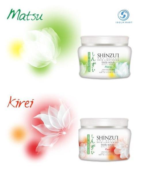 Buy SHINZUI Japanese Skin Lightening Body Scrub Singapore