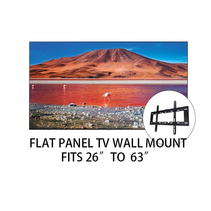 Flat Panel Tv Wall Mount Bracket Fits 23 To 65 Vesa 400mm X 400mm 50kg Load Screws Included Samsung Xiao Mi Sharp Sony Prism+ Lg Panasonic Smart Tv.