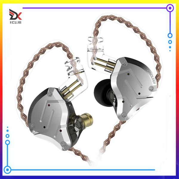 [KCLUB] KZ ZS10 Pro Metal Headset 4BA+1DD Hybrid 10 Unit HIFI Bass Earbuds Earphone Singapore
