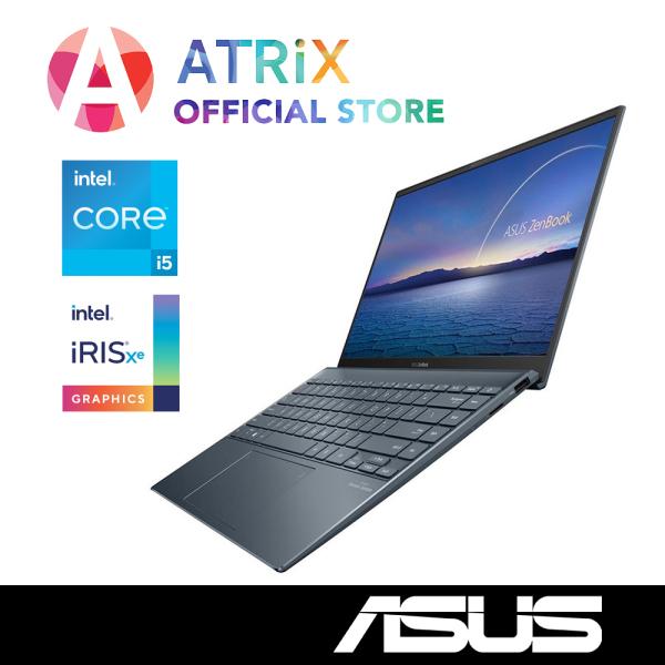 【intel 11th Gen】2020 ASUS ZenBook 14 UX425EA-BM004T | 14inch FHD 100% sRGB 300nits | Wifi 6 AX | i5-1135G7 | Iris Xᵉ Graphics | Win10 Home | 2Yr ASUS Warranty | UX425 UX425JA Zenbook 14