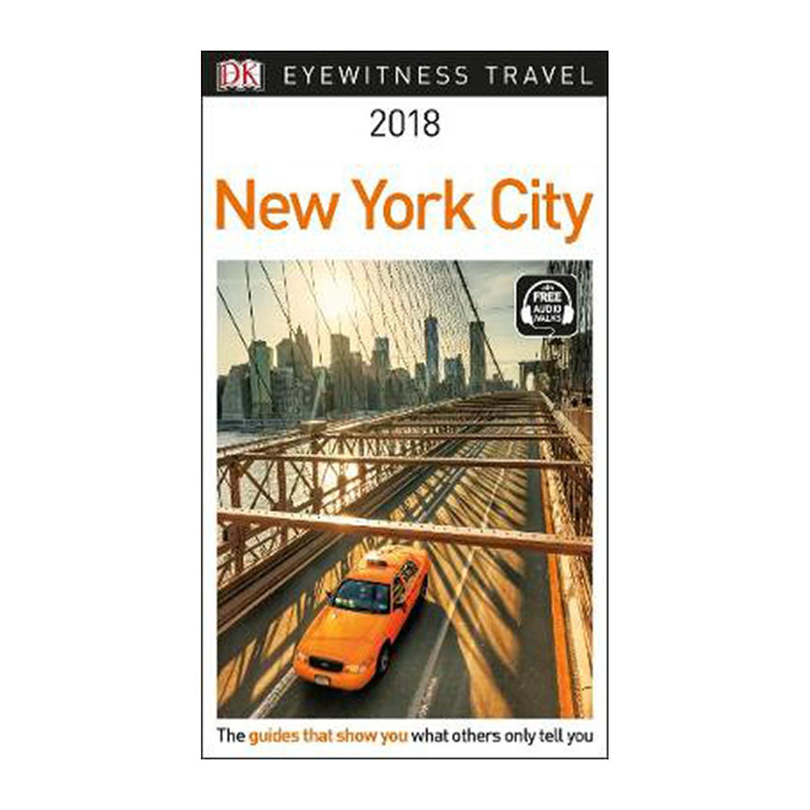 Dk Eyewitness Travel Guide New York City: 2018 (Paperback)