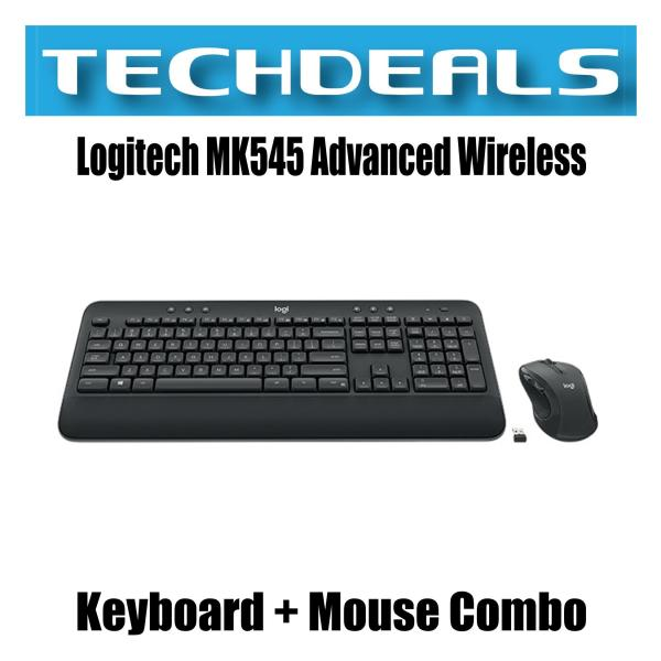 Logitech MK545 Advanced Wireless Keyboard + Mouse Combo Singapore