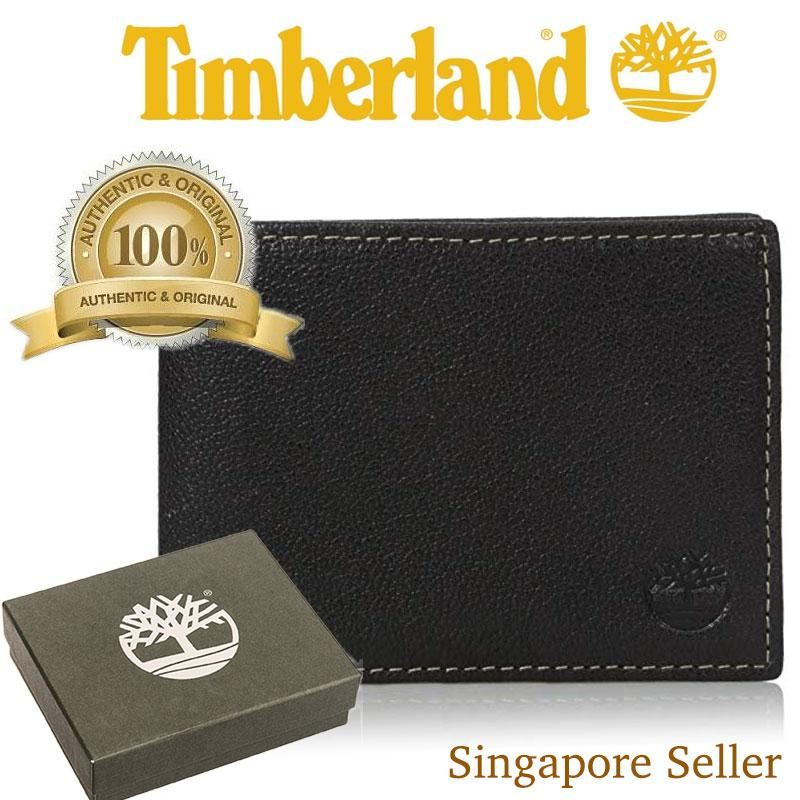 [SG SELLER] Timberland Mens Leather Wallet [Sold with Box]