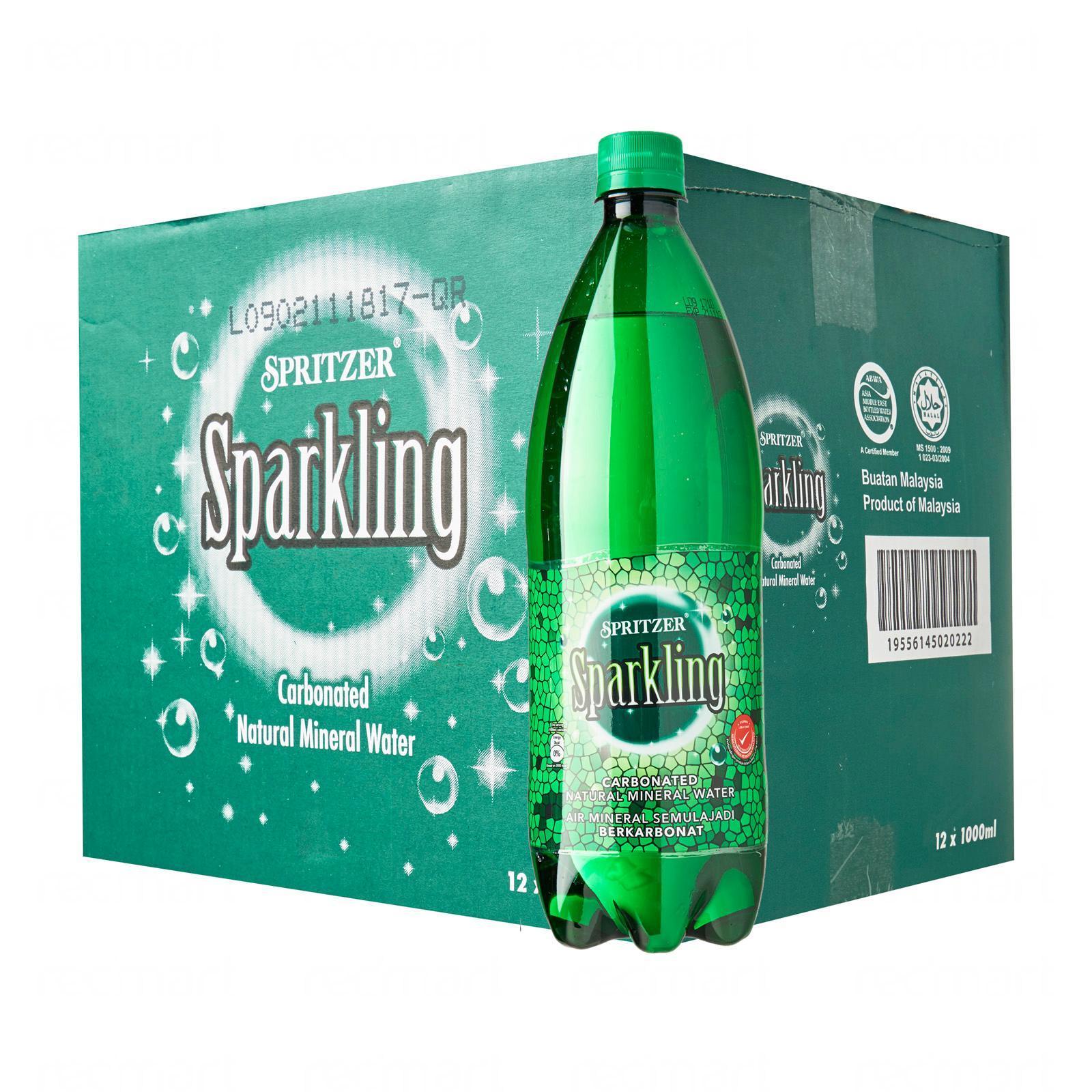Spritzer Sparkling Water- Case