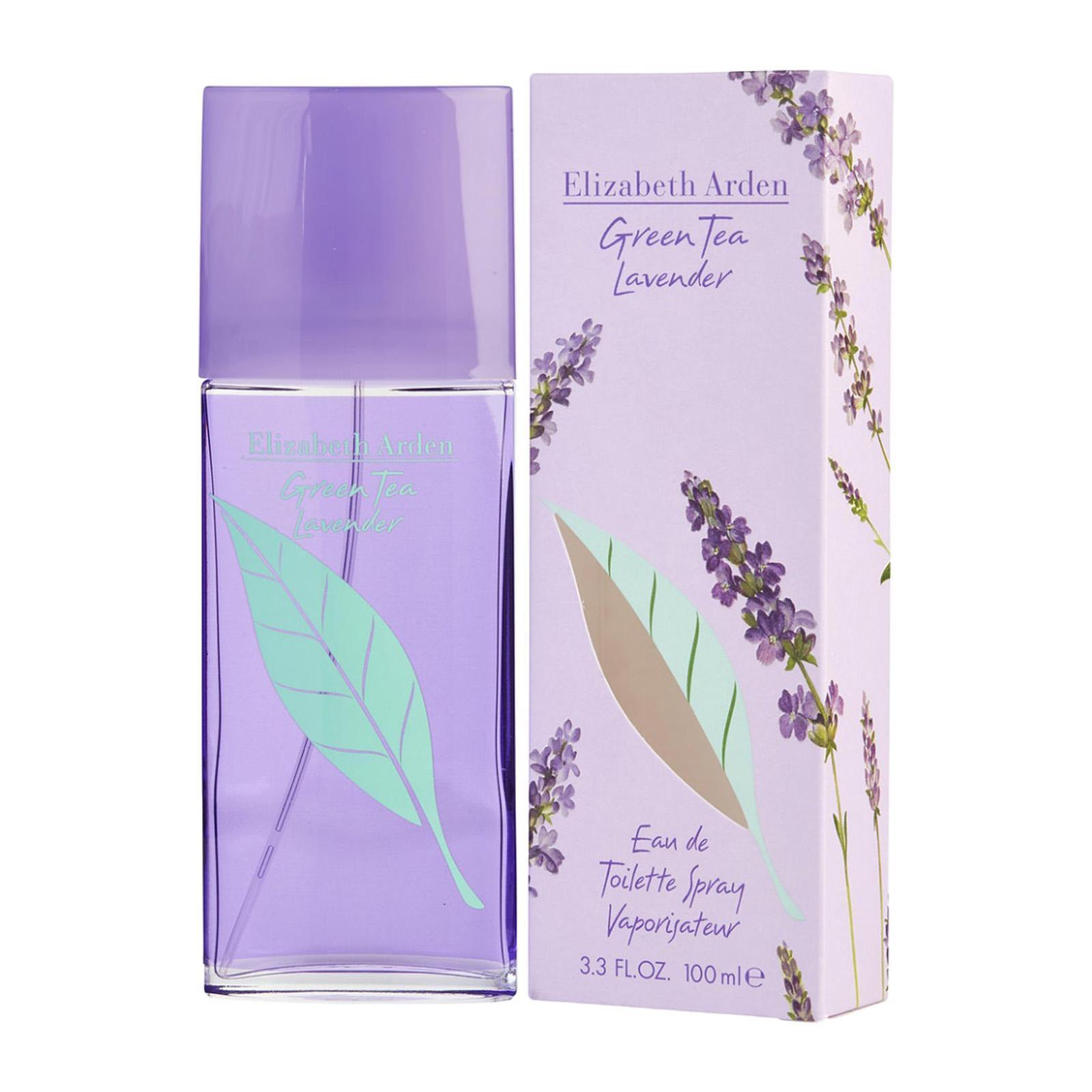 Elizabeth Arden Green Tea Lavender Eau De Toilette Perfume Fragrance SP - By BEAULUXLAB