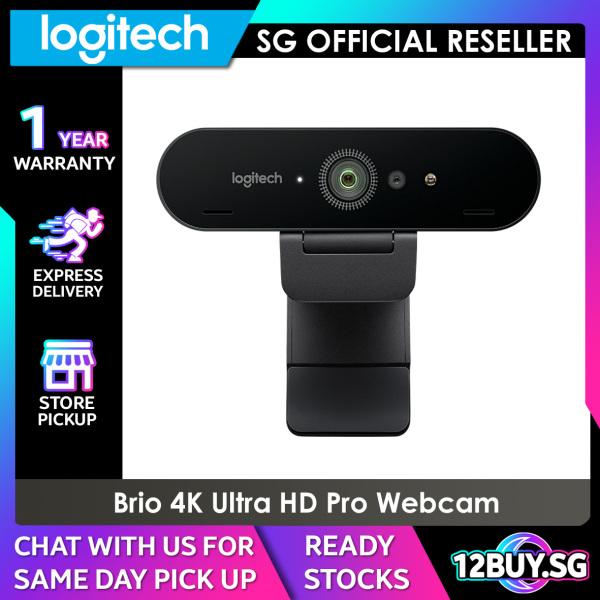 Logitech BRIO 4K ULTRA HD PRO BUSINESS WEBCAM 12BUY.SG Express Delivery