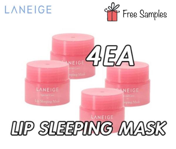 Buy ❤️4Pcs❤️ Laneige Lip Sleeping Mask Berry 3g x 4 pcs *LATEST 2022 EXPIRY STOCKS* Singapore