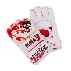 1 Pair Mma Sparring Boxing Muay Thai Training Gloves Punching Half Mitts Intl Sale