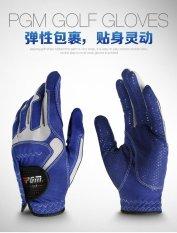 Where Can You Buy 1 Pair Pgm Men Non Slip Microfiber Cloth Golf Gloves Intl