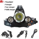 Cheap 10000Lm Cree Xml T6 2R5 Led Headlight Headlamp Head Lamp Light 4Mode Torch 2X18650 Battery Eu Us Car Charger For Fishing Lights Package B Intl