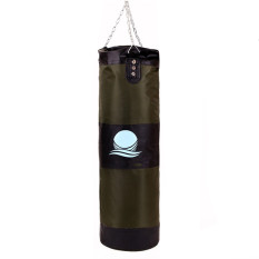 Buy Cheap 100Cm Punching Bag With Hook Hanging For Boxing Training Fitness Green Black