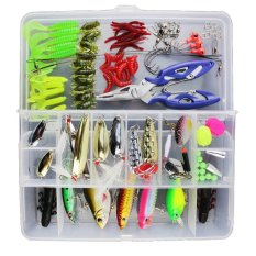 How To Buy 100Pcs Fishing Lure Set Kit Soft And Hard Lure Baits Tackle