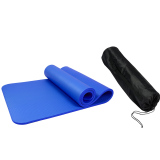 For Sale 10Mm Nbr Non Slip Exercise Yoga Gym Fitness Physio Pilates Mat With Storage Bag
