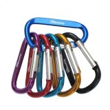 Brand New 10Pcs Shinetrip Aluminum D Shape Buckle Carabiner Survial Key Chain Carabine Hook Clip Camping Equipment Edc Paracord Buckles Intl