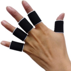 10pcs Sports Finger Splint Guard Bands Bandage Support Wrap Basketball Volleyball Football Fingerstall Sleeve Caps Protector - Intl By Ancient Shop.