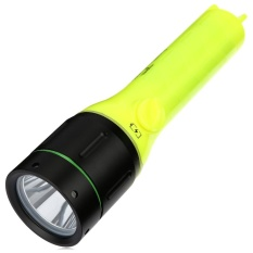 Buy 10W 1000Lm T6 Led Diving Flashlight Waterproof Underwater 40M Depth Torch Lamp Yellow Intl Not Specified Cheap