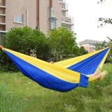 11 Colors Hammock Portable Light Handy Parachute Nylon Fabric Hammock For Two Person Lover Family For Outdoor Travel Camping Intl Best Price