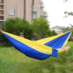 11 Colors Hammock Portable Light Handy Parachute Nylon Fabric Hammock For Two Person Lover Family For Outdoor Travel Camping Intl On China