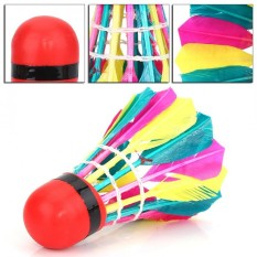 11pcs/lot Durable Colorful Badminton Balls Shuttlecocks Sports Training Accessory - Intl By Highfly.