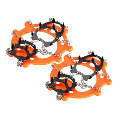 The Cheapest 12 Teeth Ice Boots Shoe Crampons Spike Cleats Gripper Climbing Outdoor Gear Pair Online