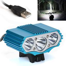Where To Shop For 12000 Lm 3 X Xml T6 Led 3 Modes Bicycle Lamp Bike Light Headlight Cycling Torch Intl