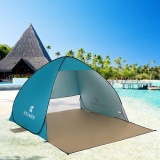 120 60 150 100Cm Outdoor Automatic Instant Pop Up Portable Beach Tent Anti Uv Shelter Camping Fishing Hiking Picnic Intl Shopping