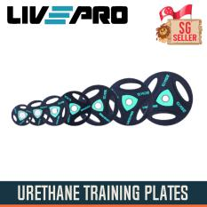 1.25kg Urethane Training Plates By Singapore Fitness.