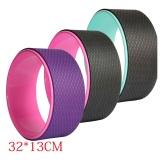 Deals For 12 6 X 5 12 Yoga Wheel For Yoga Poses Back Bend Stretch Balance Yoga Prop Fitness Wheel Color Random Intl