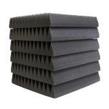 Price Comparisons For 12Pcs 5X30X30Cm Sound Absorption Foam Acoustic Wedge Studio Sound Absorption Wall