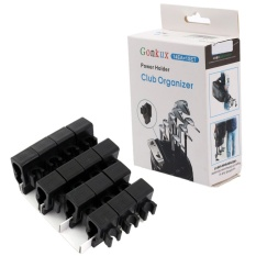 14X Golf Bag Club Organizer Clip Holder Set For All Wedge Iron Driver Putter Intl Compare Prices