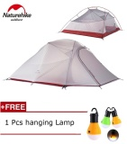 Buy 1 8Kg Naturehike Tent 3 Person 20D Silicone Fabric Double Layers Rainproof Camping Tent Nh Outdoor Tent Four Season Intl Online
