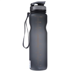 Cheapest 1L Large Capacity Leak Proof Portable Sports Drinking Water Bottle Cycling Travel Cup Grey Intl