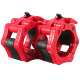 Compare Prices For 2 Lock Collars Standard Olympic Barbell Collars Weight Lifting Crossfit Gym Red Export Intl