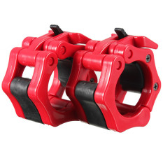 2 Lock Collars Standard Olympic Barbell Collars Weight Lifting Crossfit Gym Red Export Intl Best Buy