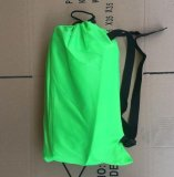 220 70Cm Fast Inflatable Lazy Bag Air Sleeping Bag Camping Portable Air Sofa Beach Bed Air Hammock Nylon Banana Sofa Lounger Intl Deal
