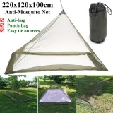 Deals For 220X120X100Cm Foldable Outdoor Camping Bed Single Camping Portable Mosquito Net Intl
