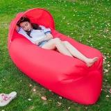 How To Buy 240 70Cm Fast Inflatable Lazy Bag Air Sleeping Bag Camping Portable Air Sofa Beach Bed Air Hammock Nylon Banana Sofa Lounger Intl