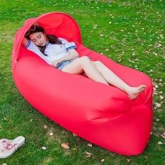 240 70Cm Fast Inflatable Lazy Bag Air Sleeping Bag Camping Portable Air Sofa Beach Bed Air Hammock Nylon Banana Sofa Lounger Intl Coupon