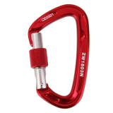 Review 24Kn Scr*W Locking Mountaineering Climbing Aluminum Carabiner Red Export Bolehdeals On Hong Kong Sar China