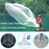 Buy 2 4M 8Ft 16Ft Mesh Mono Saltwater Clear Bait Drawstring Fishing Cast Catch Net Intl Not Specified Online